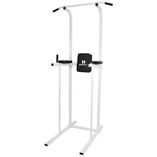 HARDCASTLE POWER TOWER AB DIP STATION PULL/CHIN UP BAR HOME GYM KNEE/LEG...