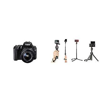 Canon 200D +18-55 with Joby Telepod Pro Kit, Black (B07KKXV2KM) | Amazon price tracker / tracking, Amazon price history charts, Amazon price watches, Amazon price drop alerts