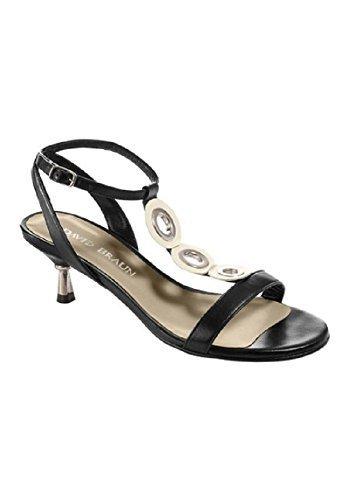 Sandalette en Cuir nappa de Patriia Dini Noir