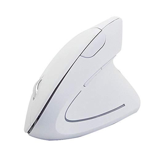 Preisvergleich Produktbild 2.4G Wireless Ergonomic Vertical Mouse 6 Tasten Optische 1600DPI Gaming Mäuse mit bunten LED-Licht Computer-Maus