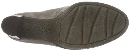 Gabor Shoes Basic, Stivaletti Donna Grigio (Wallaby 13)