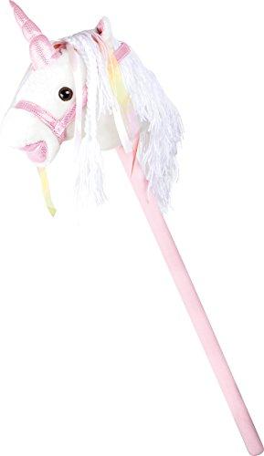 Steckenpferd Weißes Einhorn