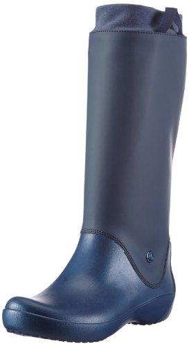 Crocs RainFloe 12424 Damen Gummistiefel Blau (Navy/Navy)