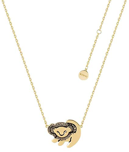 Unbekannt Der König der Löwen Disney by Couture Kingdom - Simba Halskette goldfarben (Schmuck-könig)