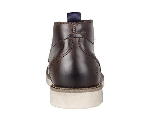 Marc O'Polo , Chaussures bateau pour homme 765 brown
