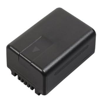 Panasonic VW VBT190E-K, Li-Ion batterie pour appareil photo V727/V520/510/210/110/V707/V500/V100/V10/SD40/SD66/SD80/SD99/TM60/TM80/TM99/HS60/HS80 (1900mAh)