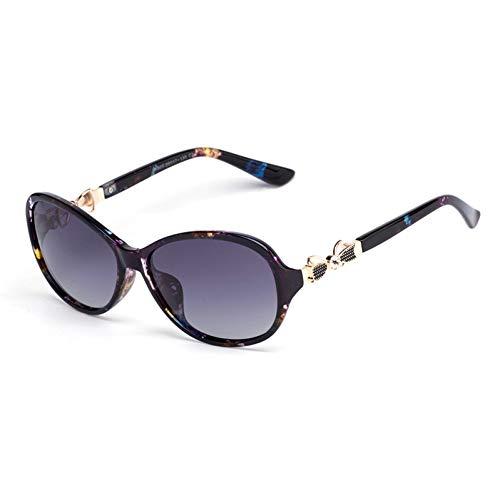 ADGJLI Sunglasses Lady Bow Sunglasses Hd Polarized Fashion S