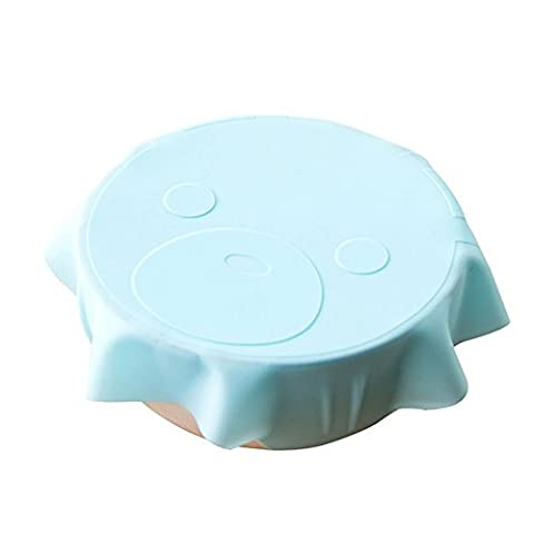 Coque en silicone, Tianranrt 1pcs Bol Couvercle en silicone film plastique pour four à micro-ondes réfrigérateur Fresh Bol d'étanchéité BPA Free-7