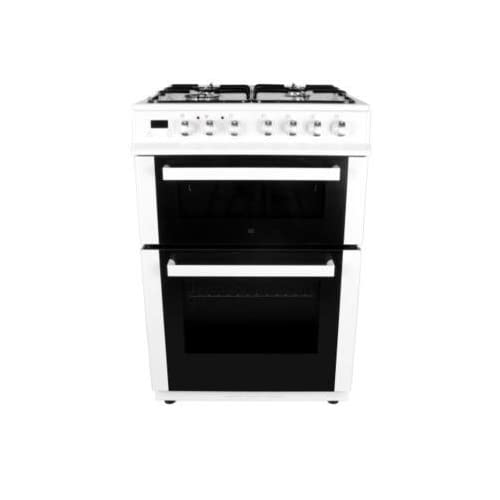 31Y399enhnL. SS500  - electriQ 60cm Dual Fuel Cooker with Double Oven in White