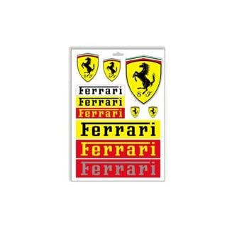 Set Pegatinas Ferrari