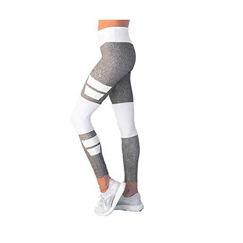 2a9ec92a42b765 FeiliandaJJ Yogahose für Damen High Waist Bauchkontrolle Frauen Laufhose  Sport Legging Sporthose ...