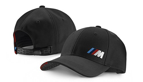 bmw-genuine-m-collection-mens-womens-adjustable-cap-hat-logo-black-80162410913