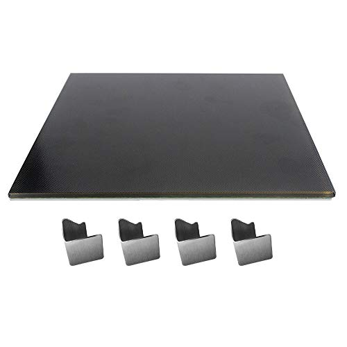 JGAURORA Black Heated Bed Glass for A5 size 310 * 310
