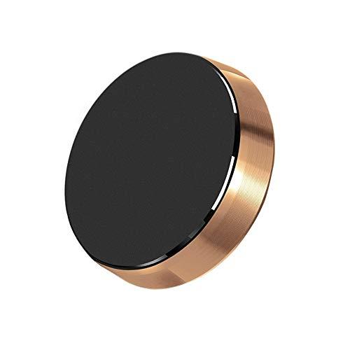 chlliacrow Lenker Montieren Halfter Magnetisch Silikon Universal, Universal Magnetisch Auto Dashboard Mobile Telefonhalterung Halter für iPhone Golden -