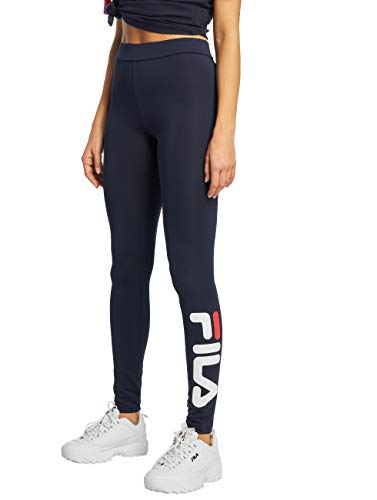 Fila Damen Leggings Urban Line Q141 Flex 2.0 blau M