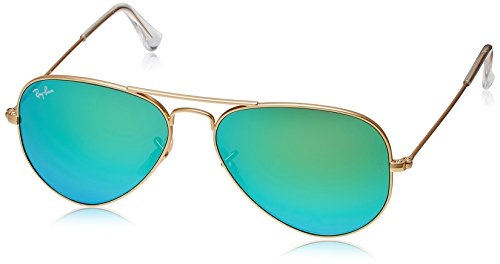 Ray-Ban Aviator Sunglasses (Matte Gold) (RB3025|112/1955)