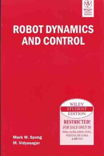 Robot Dynamics and Control