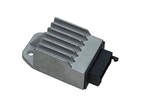 Preisvergleich Produktbild Spannungsregler, Gleichrichter, Regler für Derbi Senda 50 GPR 50 3 Polig (Leonelli Zündung) schwarzer Stecker