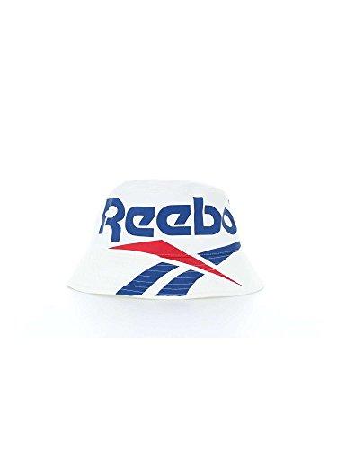Reebok CL Vector Bucket Hat Cap, Herren, Weiß-(weiß) Reebok Tennis Hat
