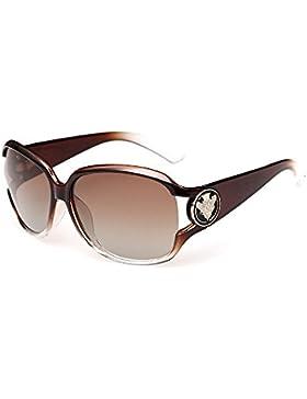 VeBrellen mujer Gafas de sol gafas de sol degradado de color polarizadas de las masculine UV400 de moda en los...