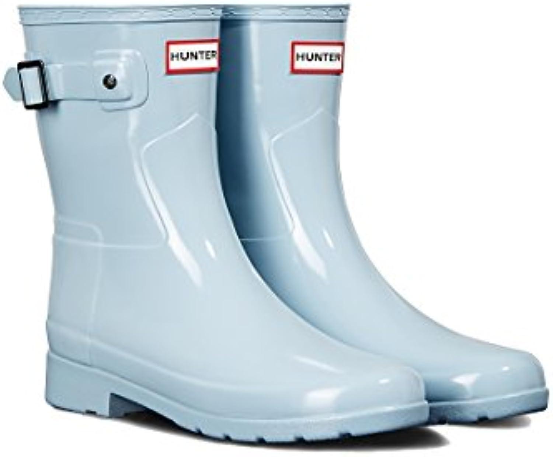 Hunter Original Refined Short Short Short Gloss, Stivali di Gomma Donna | Fashionable  | Maschio/Ragazze Scarpa  507892