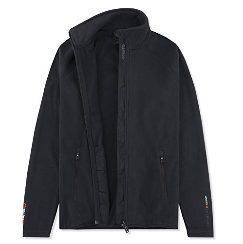Musto Damen Crew Warmer Fleece-Mantel Jacke Mantel Dunkelblau. Atmungsaktiv mehr aus Ihrer aktiven Garderobe - Zwei Taschen - Fleece Polo