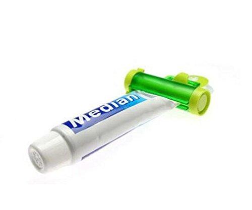 NiceButy - Dispensador de pasta de dientes de color al azar con ventosa creativa