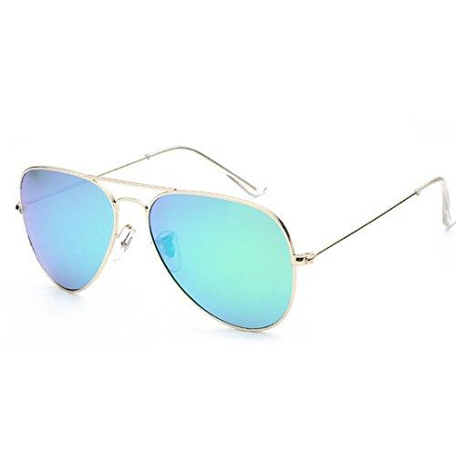 Classic occhiali da sole polarizzati uomini e donne generale/colore lenti/telaio in metallo