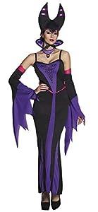 Boland Disfraz 79119adultos malvado Reina Talla 36/38, mujer, color negro y morado