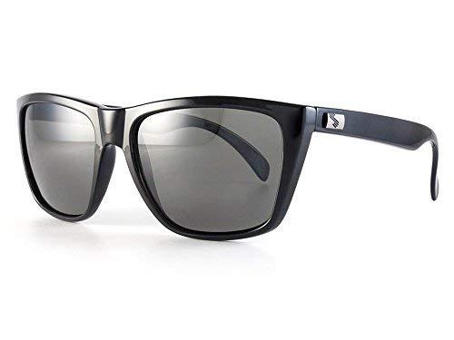 Sundog Rebel Polarisiert Golf Sonnenbrille Schwarz & Grau Objektiv
