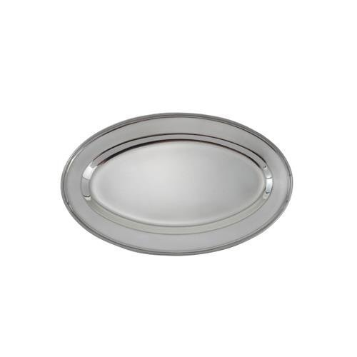 Winco OPL-14 Stainless Steel Oval Platter, 14-Inch by 8.75-Inch by Winco Winco Stainless Steel Platter