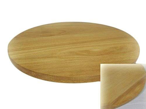 Tagliere rotondo per pizza, piatto da portata in legno massiccio, per tagliare e servire la pizza, da45cm