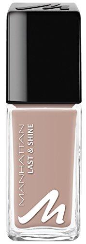 Manhattan Last & Shine Nagellack, Nr.465, Nude Lux, 1er Pack (1 x 10 ml)