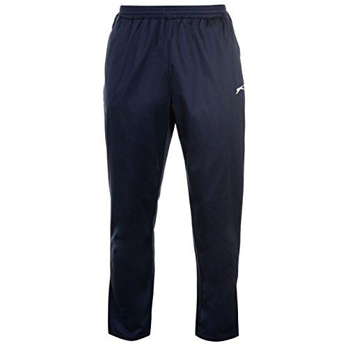 Slazenger para hombre Poly pantalones para hombre entrenamiento deportivo running deportivo para hombre, azul marino, XXXXL