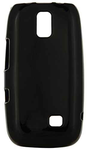 iCandy Back Cover for Nokia Asha 308 (Black)  available at amazon for Rs.109