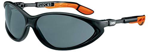 Uvex Cybric Kratzfeste & Chemikalienbeständige Schutzbrille - Getönte Scheibe