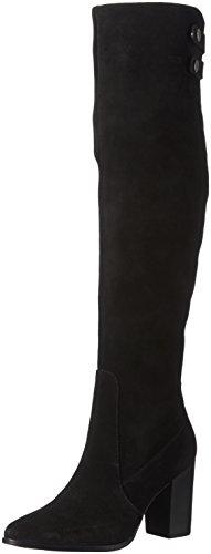 Bronx Damen Geneva Langschaft Stiefel Schwarz (Black 01)