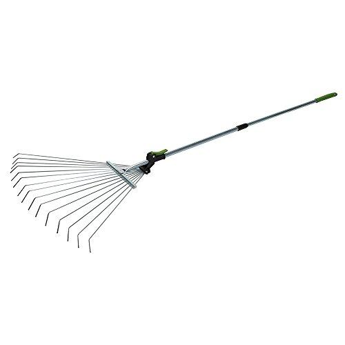 Silverline tools 228465 - Rastrello con manico...