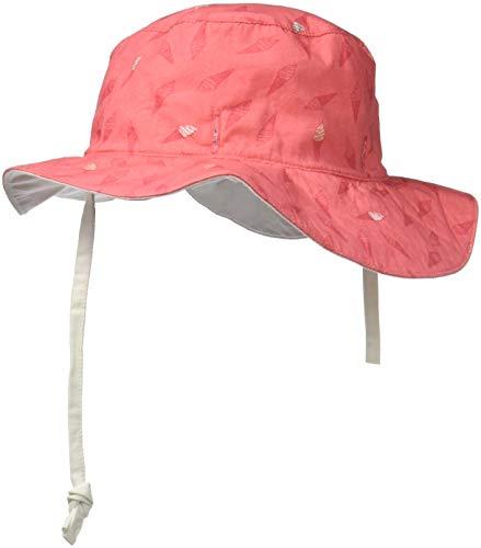 Ki ET LA Gorro Reversible 100% Anti UV, Chapeau De Cowboy Bébé garçon, Rose Kream (Taille Fabricant: 47/49 Centimeters)