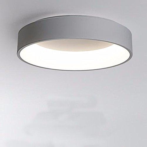 FGSGZ Deckenleuchte Kreativität Der Led Kinder Zimmer Home Beleuchtung eine im europäischen Stil moderne runde kleine Graue (45CM) Drei Schatten Licht