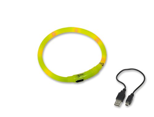 Nobby LED Lichtschlauch VISIBLE gelb  Ø10 mm; 40 cm -