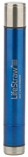 A photograph of LifeStraw Steel