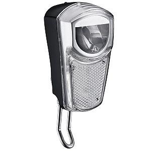 LED Scheinwerfer HL-200.3 mit Standlicht + Sensorschalter für Nabendynamo - 35 Lux