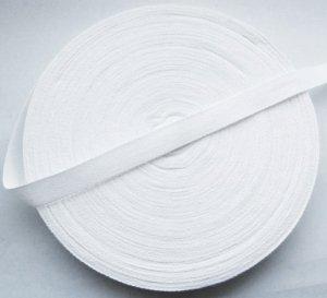 """Cotton Tape 20mm 3/4"""" White 50 Metres Craft Dressmaking Sewing"""