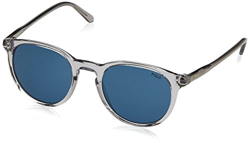 Polo Ralph Lauren Herren 0Ph4110 541380 50 Sonnenbrille, Grau (Shinyemi Trasp Grey/Blue),
