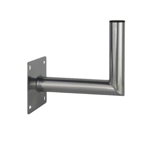 PremiumX Wandhalter 25-30 cm Stahl 25cm - 30cm Wandhalterung Sat Schüssel Montage Stabil TÜV Geprüft