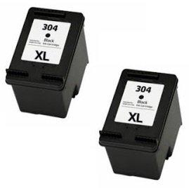 Printing pleasure 2 xl compatibili hp 304xl cartucce d'inchiostro sostituzione per hp deskjet 2620 2630 2632 2633 2634 3732 3733 3735 envy 5020 5030 5032 - nero, alta capacit?