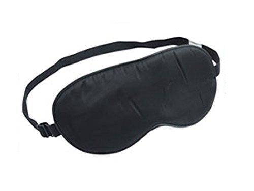 saysure-black-silk-eye-mask-eye-shade-with-earplugs-for-travel-and-sleep