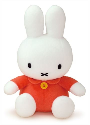 Miffy Plush - orange dress - 23cm 9""
