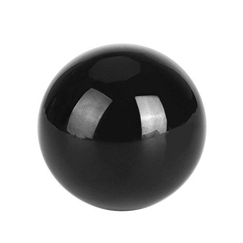 llkugel, klare Schwarze Kristallkugel für Hauptschreibtisch-Tischdekoration, kreatives Geschenk ()